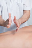 Massage Image stock