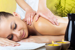 Massage Images libres de droits