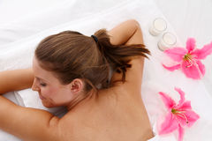 Massage Stock Photo