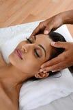 Massage fotografering för bildbyråer