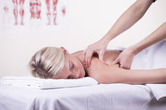 Massage Stockfoto