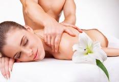 Massage royalty-vrije stock foto's