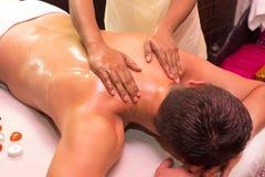 massage fotografia de stock royalty free