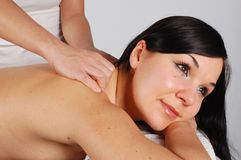Massage  Photos libres de droits