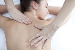 massage royaltyfri foto