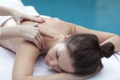 massage arkivbild