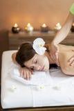 massage imagem de stock