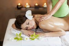 massage fotografia de stock