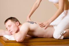 Massage #5 royalty-vrije stock afbeelding