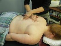 massage royaltyfria foton