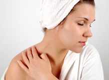 Massage #6 Royalty Free Stock Image