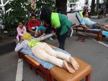 massage photographie stock libre de droits
