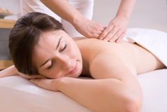 Massage Stock Afbeeldingen