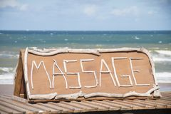 massage Stockbild