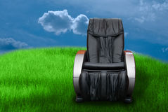 Massage arm-chair Royalty Free Stock Photo