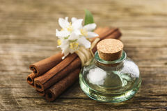 Massage aromatic oil Stock Photography