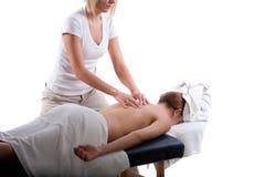 Massage arrière photos stock