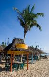 Massage auf dem Strand Stockbild