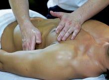 Massage am Badekurort Lizenzfreies Stockbild
