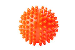 Massage ball isolated Royalty Free Stock Photos
