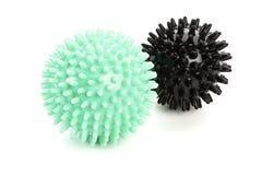 Massage balls isolated Stock Photography
