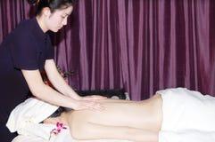 Massage in beauty salon Royalty Free Stock Photos