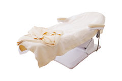 Massage bed Royalty Free Stock Image