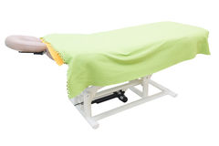 Massage bed Royalty Free Stock Photos