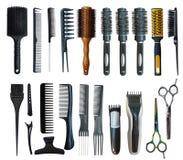 Massage black comb Royalty Free Stock Photo