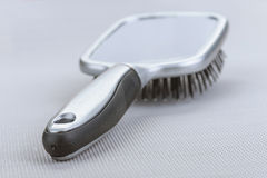 Massage black comb Stock Photo