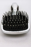 Massage black comb Royalty Free Stock Photo