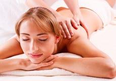 Massage bod  in spa Stock Photo