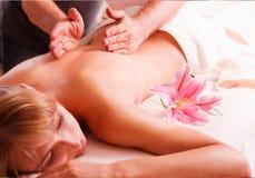 Massage body Stock Images