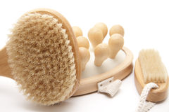 Massage brush Royalty Free Stock Photography