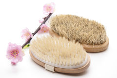 Massage brush Royalty Free Stock Photos