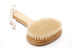 Massage brush with bristles. For the health royalty free stock photography
