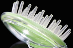 Massage brush, close-up Royalty Free Stock Images
