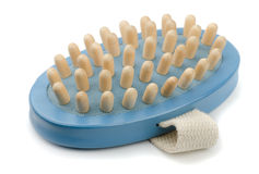 Massage brush Stock Photos