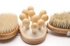 Massage brushes Royalty Free Stock Photo