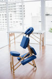 Massage chair. In medical office stock photography