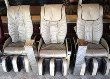 Massage Chairs Royalty Free Stock Photos
