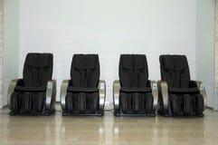 Massage chairs Stock Image