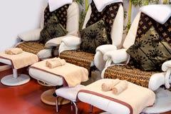 Massage chairs Royalty Free Stock Image