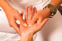 Massage closeup Royalty Free Stock Photography