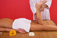 Massage concept Stock Photo