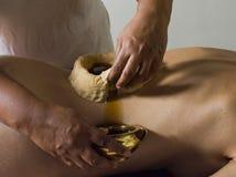 Massage d'Ayurveda Photographie stock libre de droits