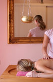 Massage d'Ayurvedic Photos stock