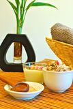 Massage and day spa objects Stock Photography