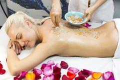 Massage de Balinese Images stock