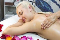 Massage de Balinese Photographie stock